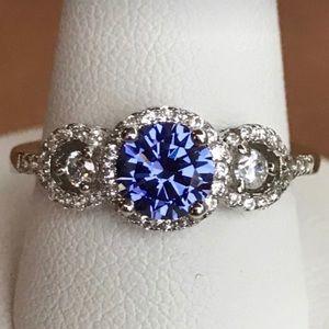 Jewelry - Stunning 1.32 CT Natural Tanzanite engagement ring